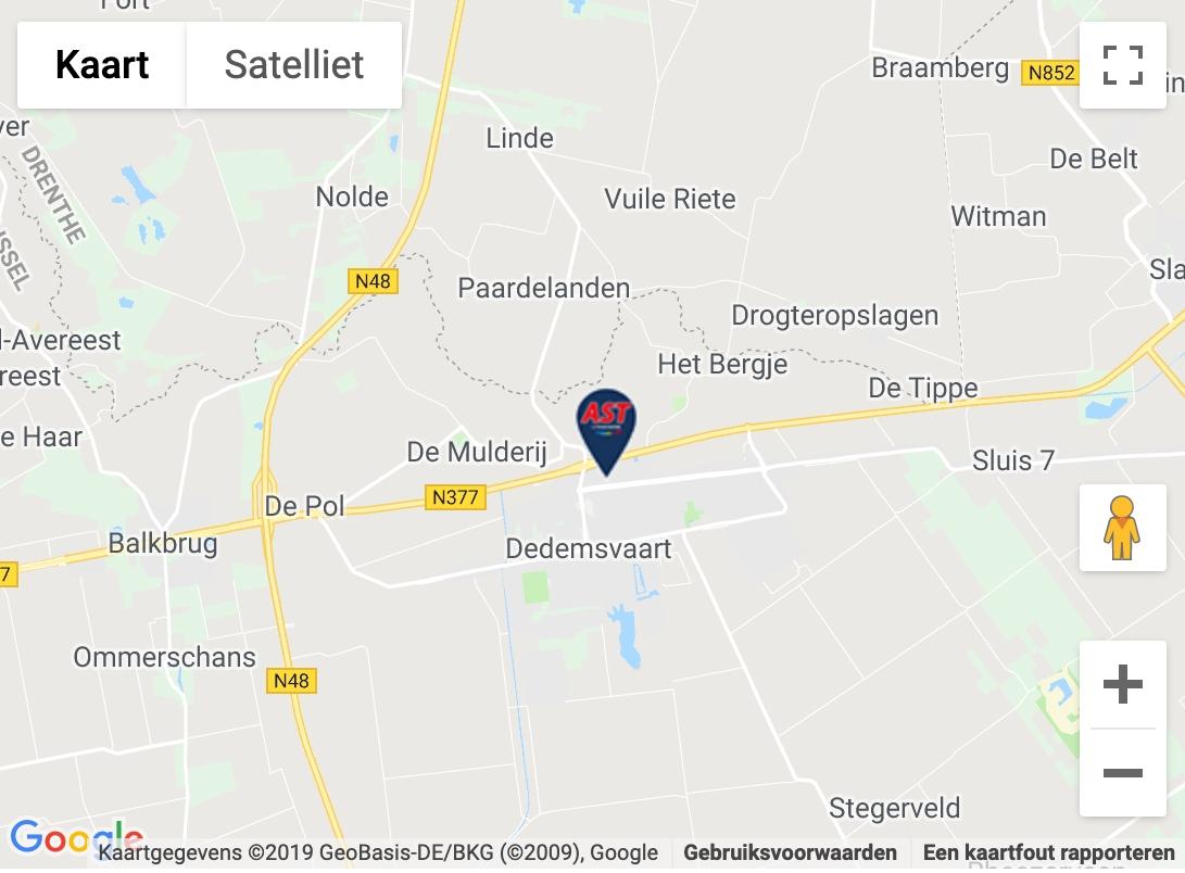 Maps afbeelding AST Dedemsvaart