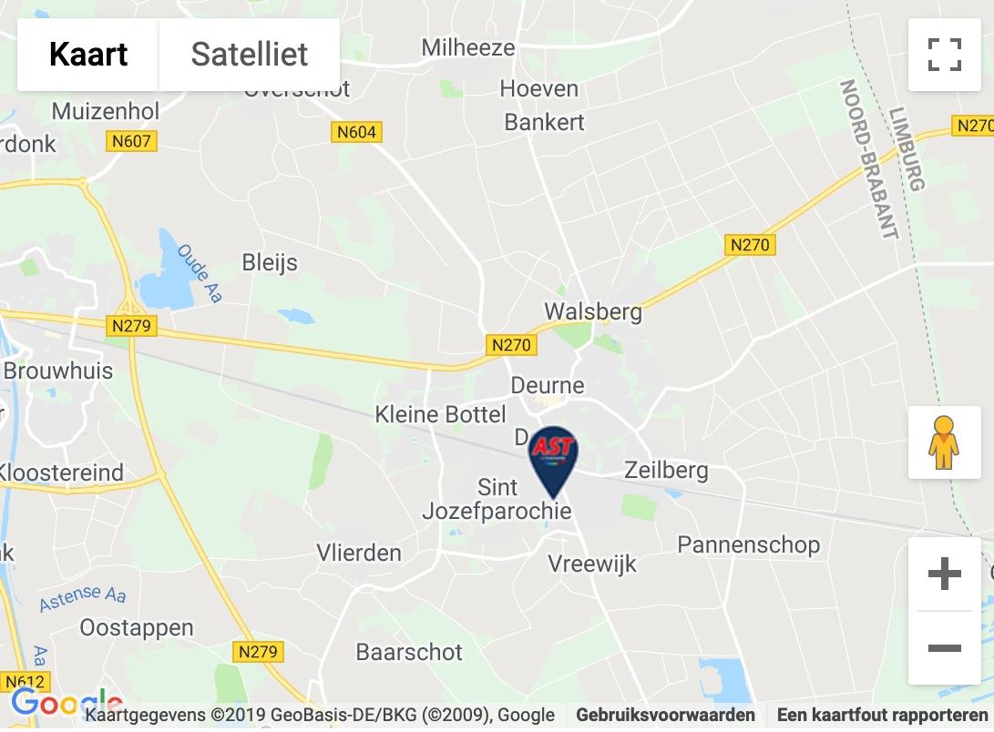 Maps afbeelding AST Deurne